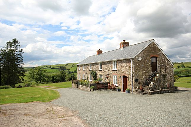 Thumbnail Detached house for sale in Merthyr Cynog, Brecon, Powys