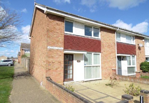 Thumbnail End terrace house to rent in Boydin Close, Witham