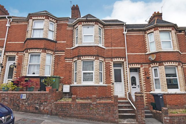 Terraced house for sale in Monkswell Road, Exeter