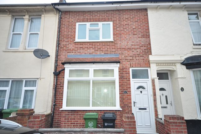 Thumbnail Terraced house to rent in Wymering Road, Portsmouth