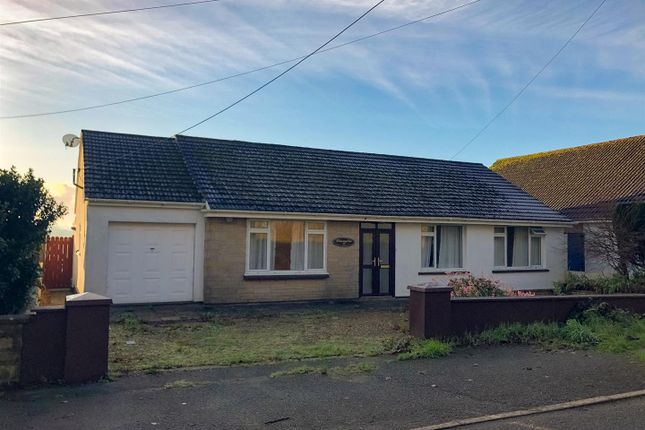 3 bed bungalow for sale in New Road, Hook, Haverfordwest SA62
