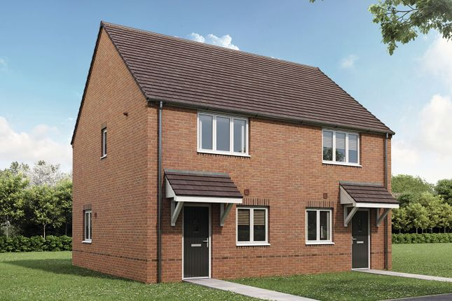 """Thumbnail Semi-detached house for sale in """"The Harcourt"""" at Gallows Hill, Warwick"""