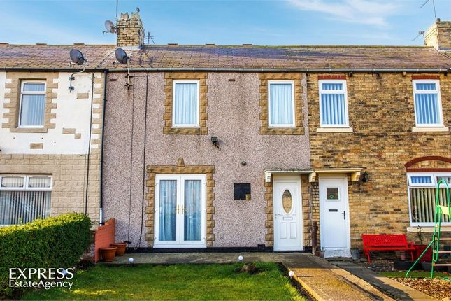 Thumbnail Terraced house for sale in Dalton Avenue, Lynemouth, Morpeth, Northumberland