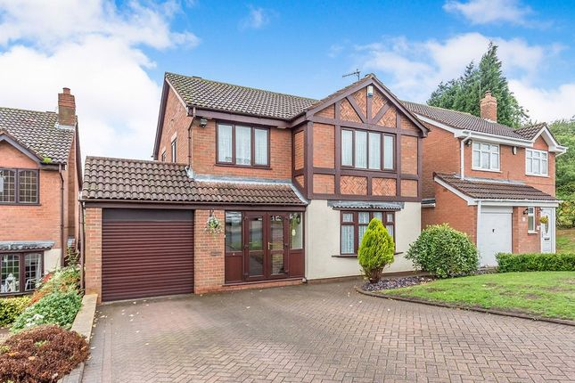 Thumbnail Detached house for sale in Longleat Drive, Milking Bank, Dudley