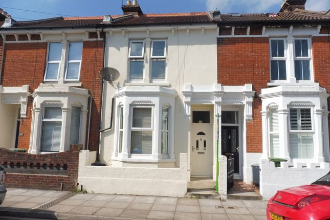 Thumbnail Terraced house to rent in Bramshott Road, Southsea, Portsmouth, Hampshire