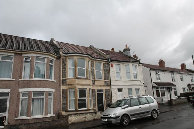 Thumbnail Terraced house to rent in Dale Street, St George