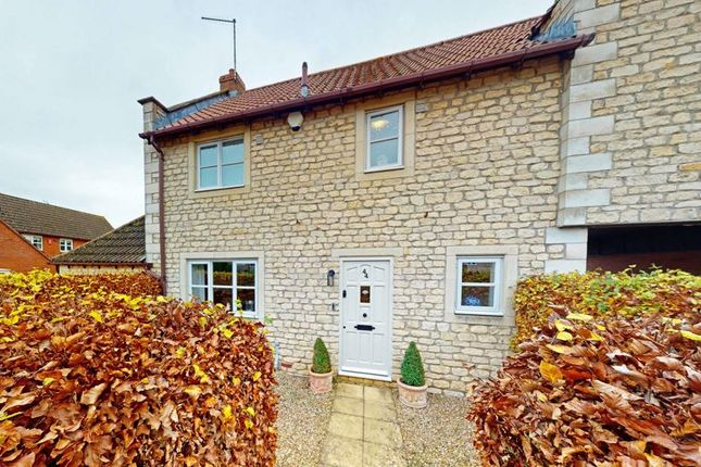 2 bed semi-detached house for sale in Glen Road, Castle Bytham, Grantham, Lincolnshire NG33