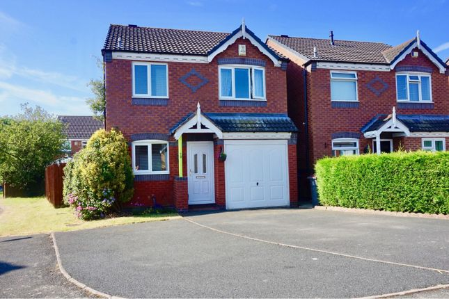 Thumbnail Detached house for sale in Andreas Drive, Muxton