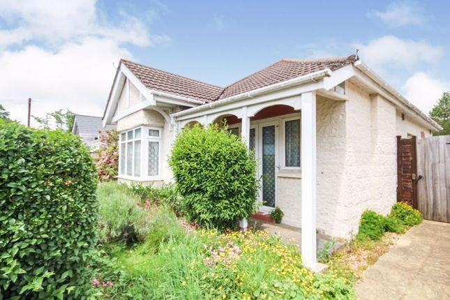 Thumbnail Detached bungalow for sale in Delhi Road, Winton, Bournemouth