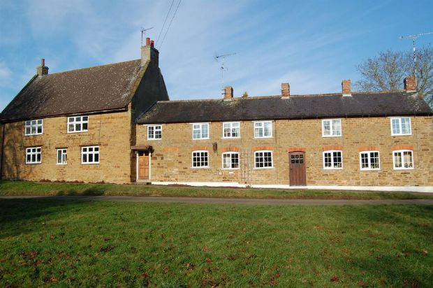 Thumbnail Terraced house for sale in The Green, Everdon, Daventry