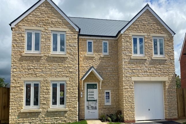 "Thumbnail Detached house for sale in ""The Edlingham"" at Yeovil Road, Sherborne"