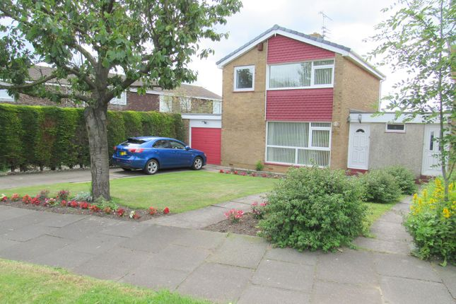 Thumbnail Detached house for sale in Cramond Way, Cramlington
