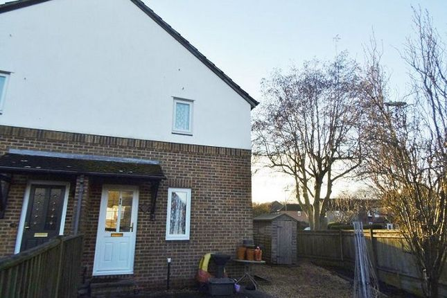 Thumbnail End terrace house to rent in Heathfield, Basingstoke