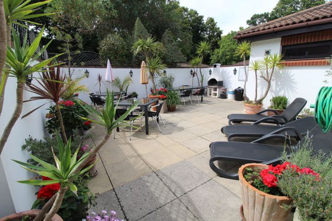 Barbecue Area of 45 Lindsay Road, Poole BH13