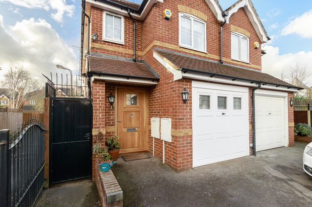 Thumbnail Semi-detached house for sale in St. Johns Close, London