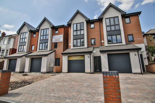 Thumbnail Semi-detached house for sale in Newport Road, Old St. Mellons, Cardiff
