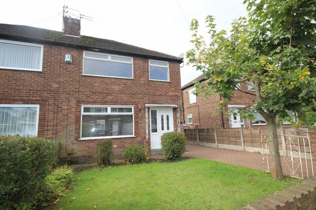 Thumbnail Semi-detached house to rent in Lyndene Avenue, Roe Green, Worsley