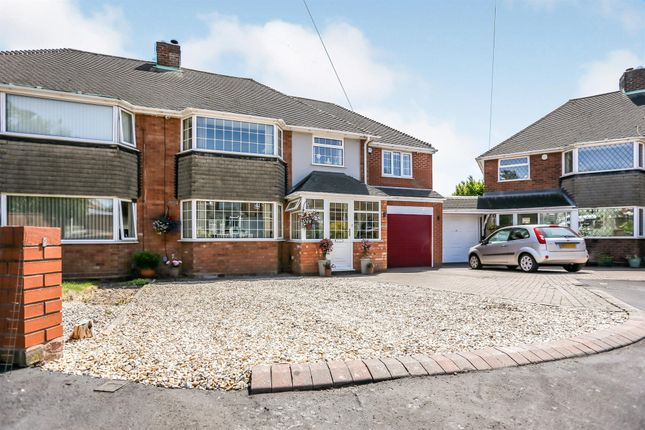 Semi-detached house for sale in Sargent Close, Great Barr, Birmingham