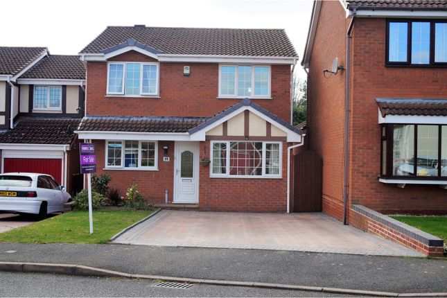 Thumbnail Detached house for sale in Kingfisher Way, Apley Telford