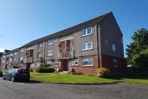 Thumbnail Flat to rent in Busbiehill Place, Kilmarnock