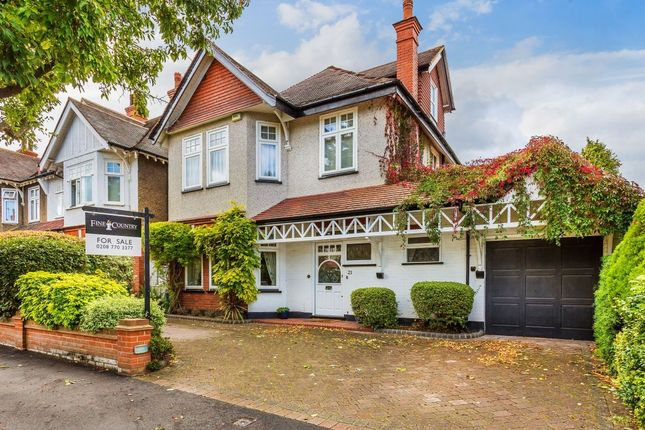 Thumbnail Detached house for sale in Derby Road, Cheam, Sutton