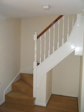 Stairway of Trow Close, Cotton End, Bedford MK45