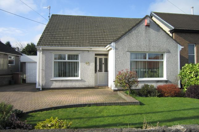 Thumbnail Detached bungalow for sale in Hengoed Road, Penpedairheol