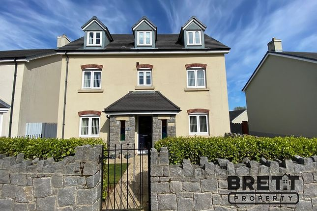 Thumbnail Detached house for sale in Honeyhill Grove, Lamphey, Pembroke, Pembrokeshire.