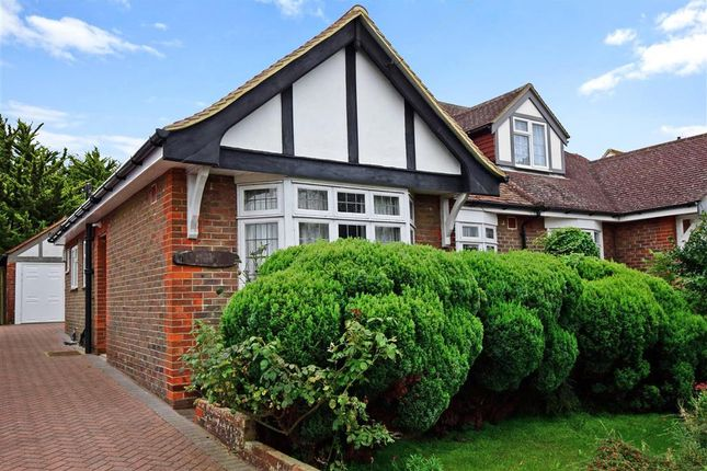 Thumbnail Semi-detached bungalow for sale in Larkfield Way, Patcham, Brighton, East Sussex