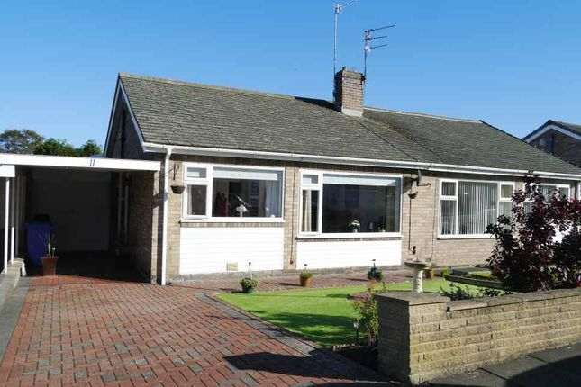 Thumbnail Semi-detached bungalow for sale in Antonine Walk, Heddon-On-The-Wall, Newcastle Upon Tyne
