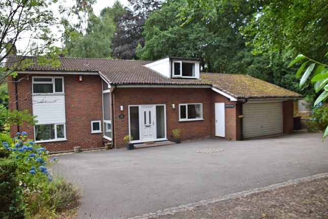 Thumbnail Detached house for sale in South Wood, Baldwins Gate, Newcastle Under Lyme
