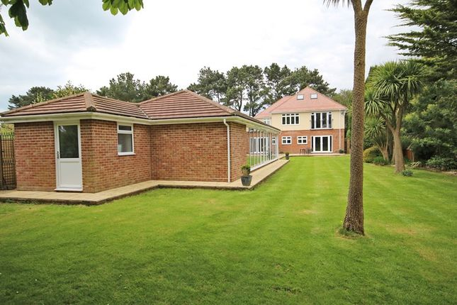 Thumbnail Detached house for sale in Becton Lane, Barton On Sea, New Milton