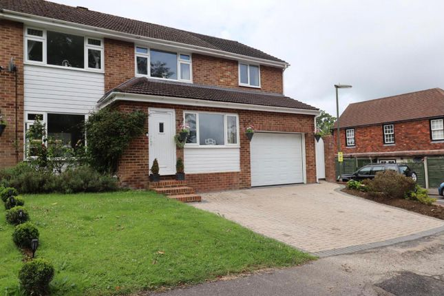 Thumbnail Semi-detached house for sale in Bassetts Hill, Dormansland, Lingfield