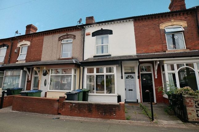 Thumbnail Terraced house for sale in Wigorn Road, Bearwood, Smethwick