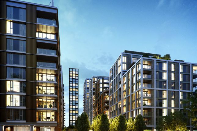 Thumbnail Flat for sale in Chartwell House, Prince Of Wales Drive, Battersea, London