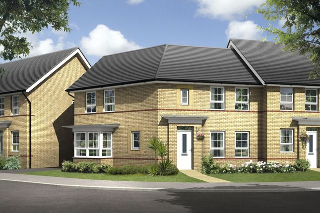 "Thumbnail Detached house for sale in ""Faringdon"" at Warkton Lane, Barton Seagrave, Kettering"