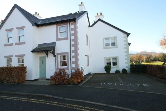 Thumbnail Flat for sale in 12 Howrahs Court, Elliott Park, Keswick, Cumbria
