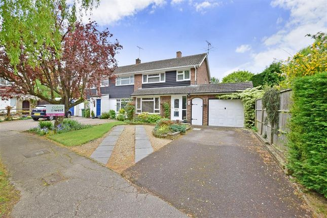 Thumbnail Semi-detached house for sale in Millfield, Southwater, Nr Horsham, West Sussex