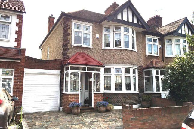 Thumbnail End terrace house for sale in Arandora Crescent, Chadwell Heath, Romford