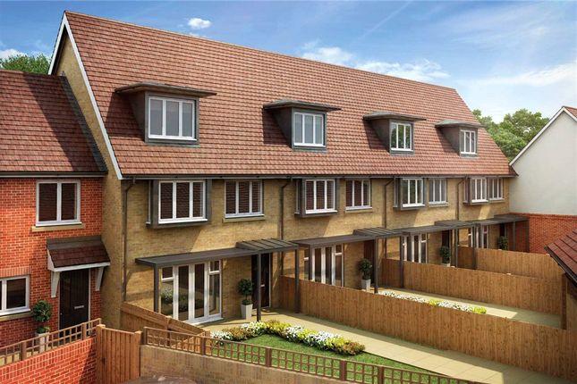Thumbnail End terrace house for sale in Copse Close, Fleet