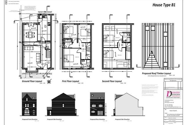 Thumbnail Semi-detached house for sale in Plot 2, 245 Westminster Road, Birmingham
