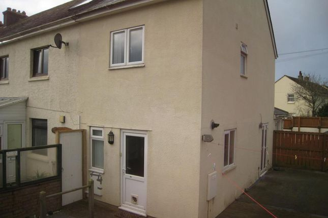 Thumbnail End terrace house to rent in Listry Road, Newquay, Cornwall