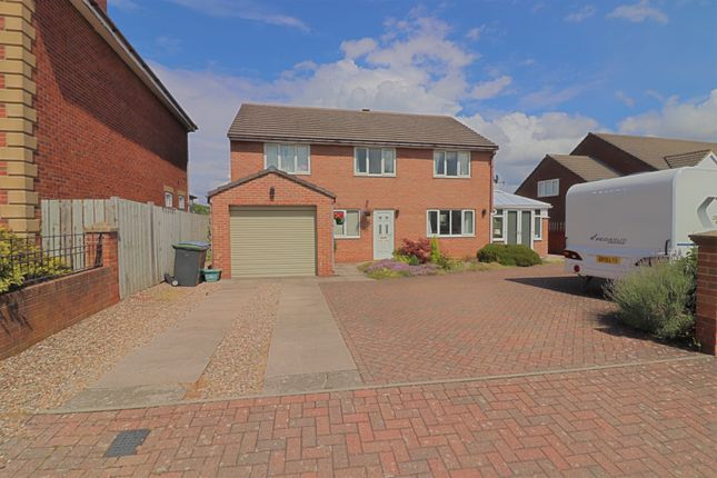 Thumbnail Detached house for sale in Larwood Court, Greencroft, Stanley