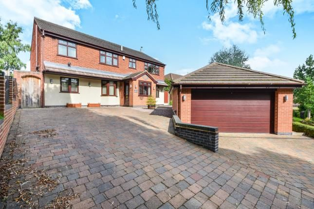 Thumbnail Detached house for sale in Kings Lodge Drive, Mansfield, Nottinghamshire