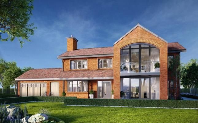 Thumbnail Detached house for sale in Cherry Barrow Barns, Congleton Road, Marton, Cheshire