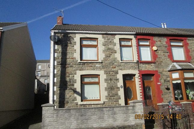 Thumbnail End terrace house to rent in 83 Victoria Street, Caerau, Maesteg