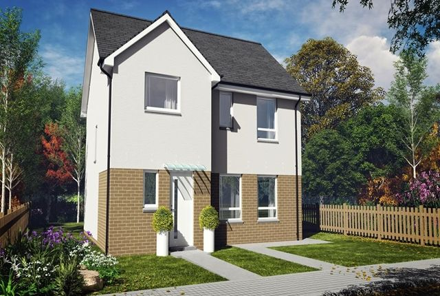 Thumbnail Detached house for sale in Lawson Avenue, Motherwell