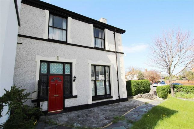 Thumbnail Semi-detached house for sale in Brighton Road, Rhyl, Denbighshire