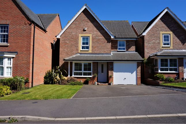 Thumbnail Detached house for sale in Sanderling Way, Mansfield