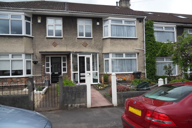 Thumbnail Terraced house to rent in Woodside Road, St Annes Park